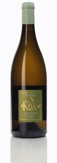 Foothills Vineyards Monogram Semillon 2017
